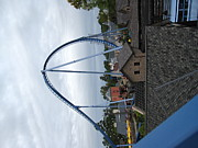 Drop Metal Prints - Busch Gardens - 121212 Metal Print by DC Photographer