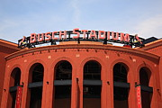 National League Prints - Busch Stadium - St. Louis Cardinals Print by Frank Romeo