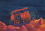 Machinery Originals - Bush Machine by David Calrow