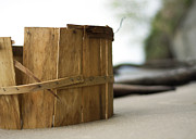 Bushel Photos - Bushel Basket by Rebecca Sherman