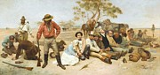 Swag Framed Prints - Bushrangers Framed Print by Pg Reproductions
