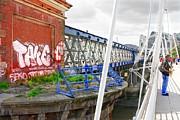 Colin Hogan - Busker On Bridge - ref 2651