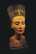 Political Figures Posters - Bust Of Nefertiti. S.xiv Bc. 19th Poster by Everett