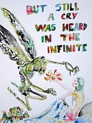 But Still A Cry Was Heard In The Infinite Print by Fabrizio Cassetta