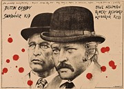 Butch Cassidy Photo Prints - Butch Cassidy and the Sundance Kid Print by Movie Poster Prints