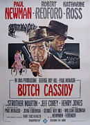 Butch Cassidy Posters - Butch Cassidy and the Sundance Kid Poster by Nomad Art And  Design
