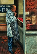 Butchers Profit Print by Bob Northway