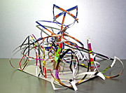 Kaleidoscope Sculptures - BUTTERfly and FLOWER by Citpelo Xccx