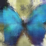 Butterfly Art - Ab0101a Print by Variance Collections