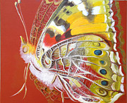 Decorativ Paintings - Butterfly basic by Art Ina Pavelescu