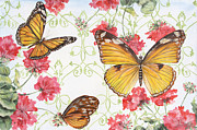 Butterfly Originals - Butterfly Garden by Jean Plout