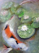 Frances Marino - Butterfly Koi