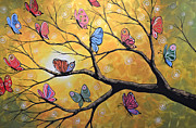Trees Posters - Butterfly Lights Poster by Amy Giacomelli