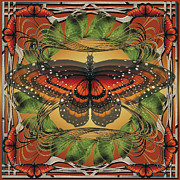 Transformation Jewelry Prints - Butterfly World Print by Peaceful Spirit