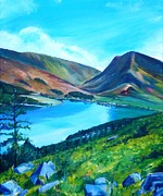 Robina Osbourne - Buttermere from Red Pike