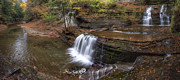 Buttermilk Creek Falls Print by Mark Papke