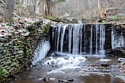 Buttermilk Falls 2 Print by Anthony Thomas