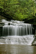 Buttermilk Falls Prints - Buttermilk Falls Print by Judd Connor