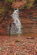 Buttermilk Falls Framed Prints - Buttermilk Falls Framed Print by Marcia Colelli
