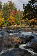 Buttermilk Falls Prints - Buttermilk Falls NY Print by Chris Scroggins