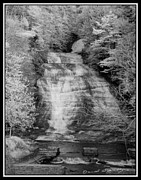 Buttermilk Falls State Park Prints - Buttermilk Infrared 1 Print by David Blatchley