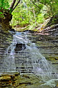Butternut Falls Print by Frozen in Time Fine Art Photography