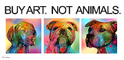 Cute Dogs Digital Art - Buy Art  by Mark Ashkenazi