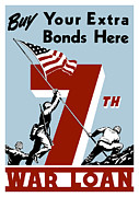 Featured Art - Buy Your Extra Bonds Here by War Is Hell Store