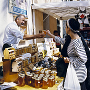 People - Buying Honey by Heiko Koehrer-Wagner