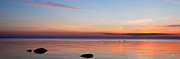Buzzards Prints - Buzzards Bay Sunset 2 Print by Michael Petrizzo