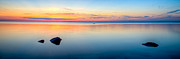 Buzzard Prints - Buzzards Bay Sunset 3 Print by Michael Petrizzo
