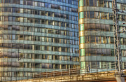 Business-travel Digital Art Prints - BVG building Print by Nathan Wright