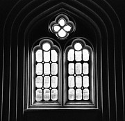 John Parisho - BW Church Window