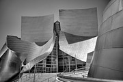 Chuck Kuhn - BW Disney Hall