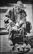 Chuck Kuhn - BW Morocco Paint