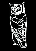 Amy Sorrell - BW Owl