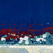 Peeling Paint Prints - By Sea on Land Print by Carol Leigh