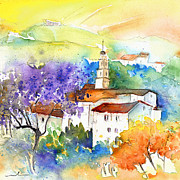 Teruel Prints - By Teruel Spain 02 Print by Miki De Goodaboom