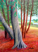 River View Paintings - By the Lafayette River by Jim Whalen