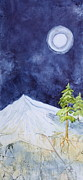 Nancy Jolley Art - By the Light of the Moon by Nancy Jolley
