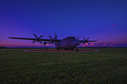 C-130 Prints - C-130E Hercules Military AirCraft Print by David Haskett