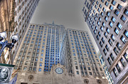 Chicago Board Of Trade Prints - C B O T - H D R Print by David Bearden