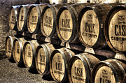 Cellar Photos - Cabernet Barrels by Agrofilms Photography