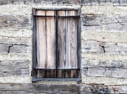 Cabin Window Framed Prints - Cabin Fever Framed Print by Dale Kincaid