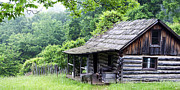 Log Cabin Photos - Cabin in the Hills by Thomas R Fletcher