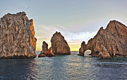 Featured Photos - Cabo San Lucas Arch by Marcia Colelli