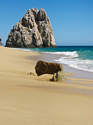 Baja Framed Prints - Cabo San Lucas Beach 2 Framed Print by Shane Kelly