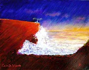 Command Paintings - Cabo Sao  Vicente - Cape St. Vincent by Carl Emanuel Mark