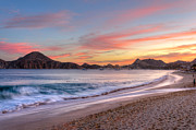 Cabo San Lucas Prints - Cabo Sunset Print by Mark Goodman