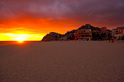 Cabo San Lucas Prints - Cabo sunset Print by Ryan Burton